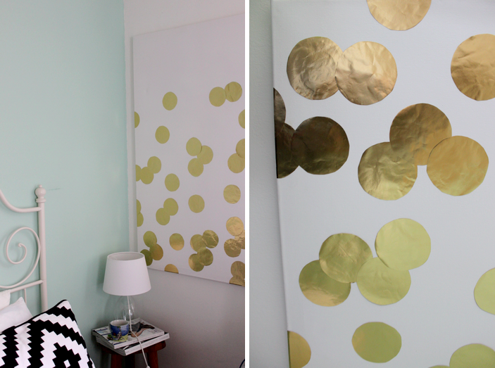diy konfetti bild selber machen provinzkindchen. Black Bedroom Furniture Sets. Home Design Ideas