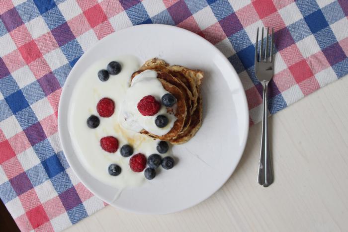 Gesunde Pfannkuchen ganz ohne Mehl