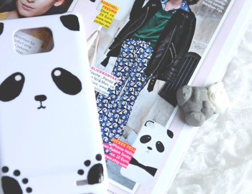 DIY Panda Phone Case