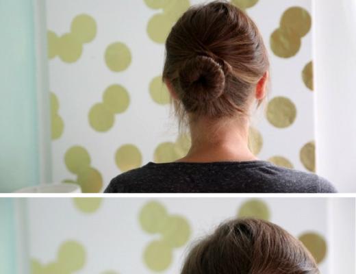 Hair Tutorial: Criss Cross Bun