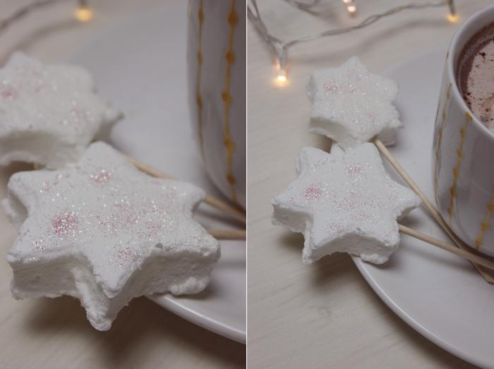 Marshmallow Sterne selber machen