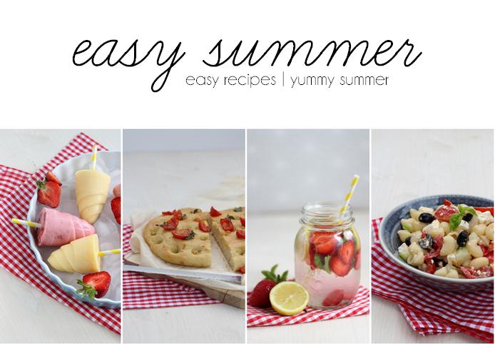 Easy Summer Rezeptideen