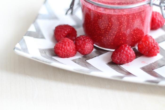 Chia Marmelade ohne Zucker