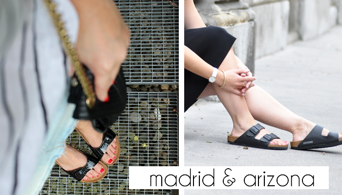 3 Blogger & 9 Outfits - Birkenstock zu Shorts