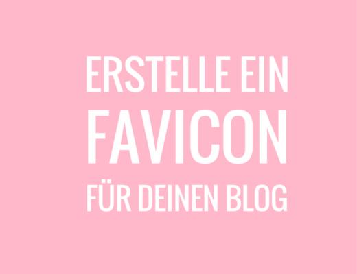 Erstelle ein Favicon für deinen Blog