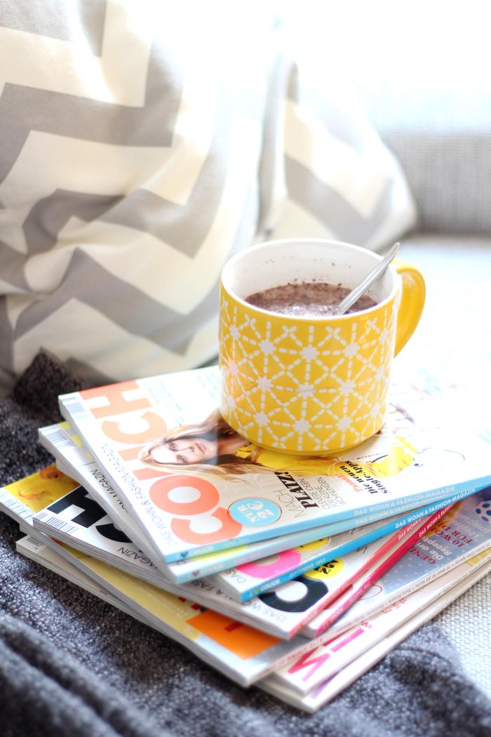 Magazine und Kakao