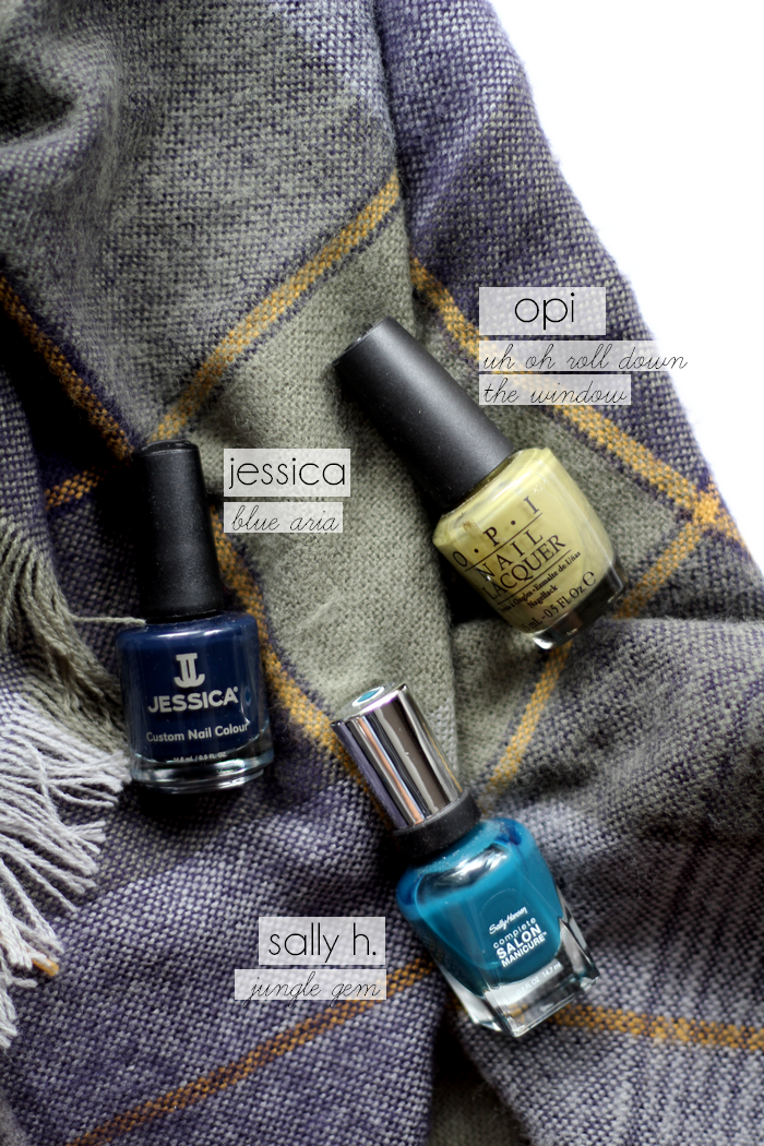 nail fall faves blues