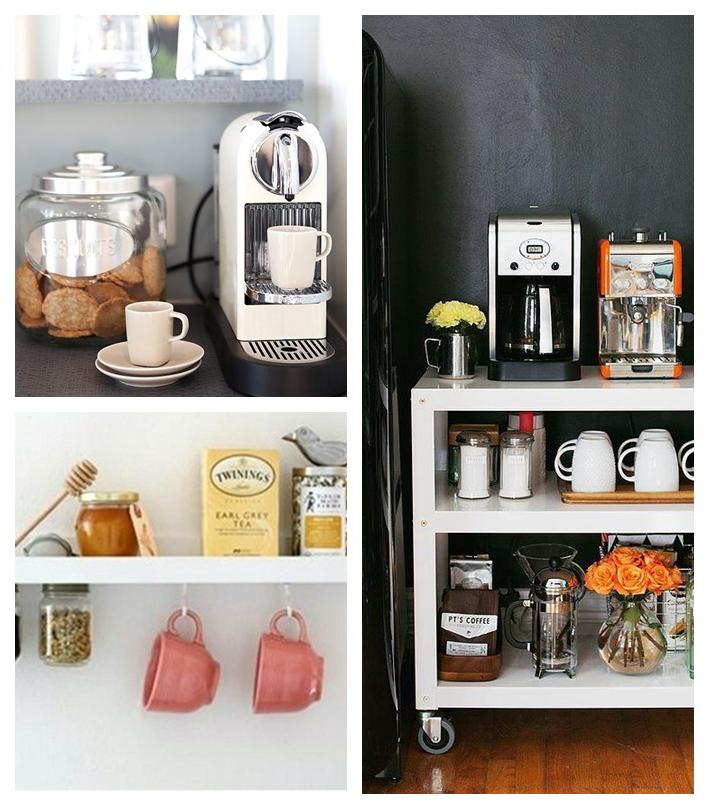 Tea Station Ideas