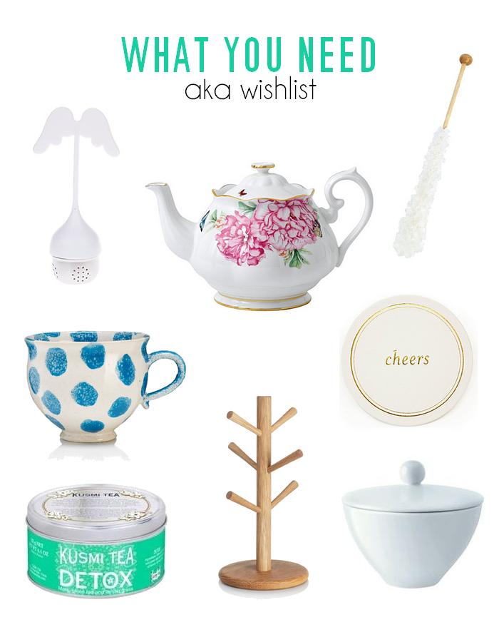 wishlist tea station