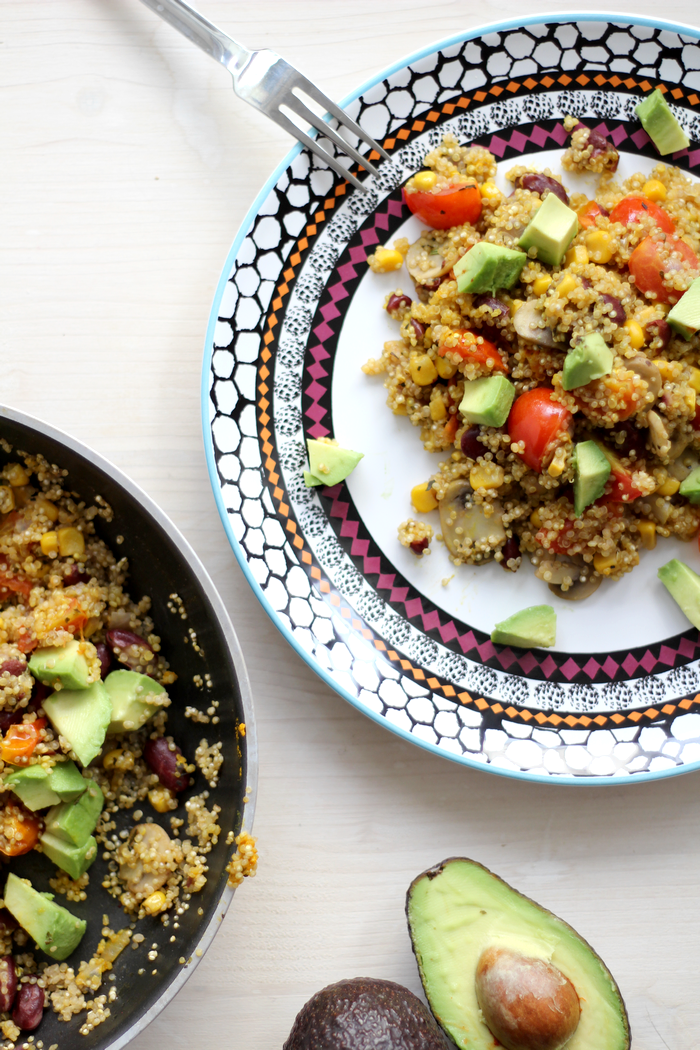 One Pan Quinoa