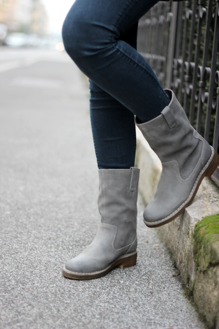clarks winterboots outfit