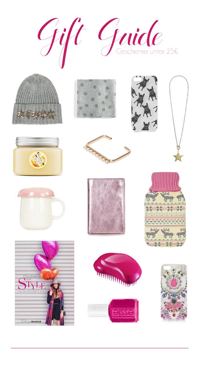 gift guide under 25€ for girls