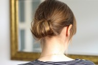 easy hairstyle 3 Minute Updo