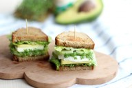 green veggie sandwich // provinzkindchen.com