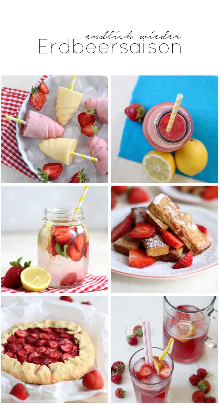Erdbeersaison - meine liebsten Rezepte // provinzkindchen.com