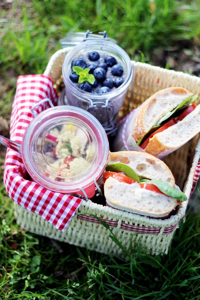 Die schönsten Picknickplätze in Graz - #2 Veggie to go am Thalersee