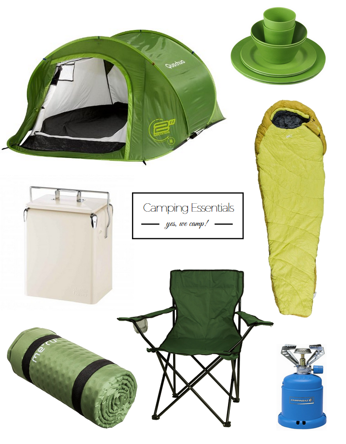 Camping Essentials // provinzkindchen.com
