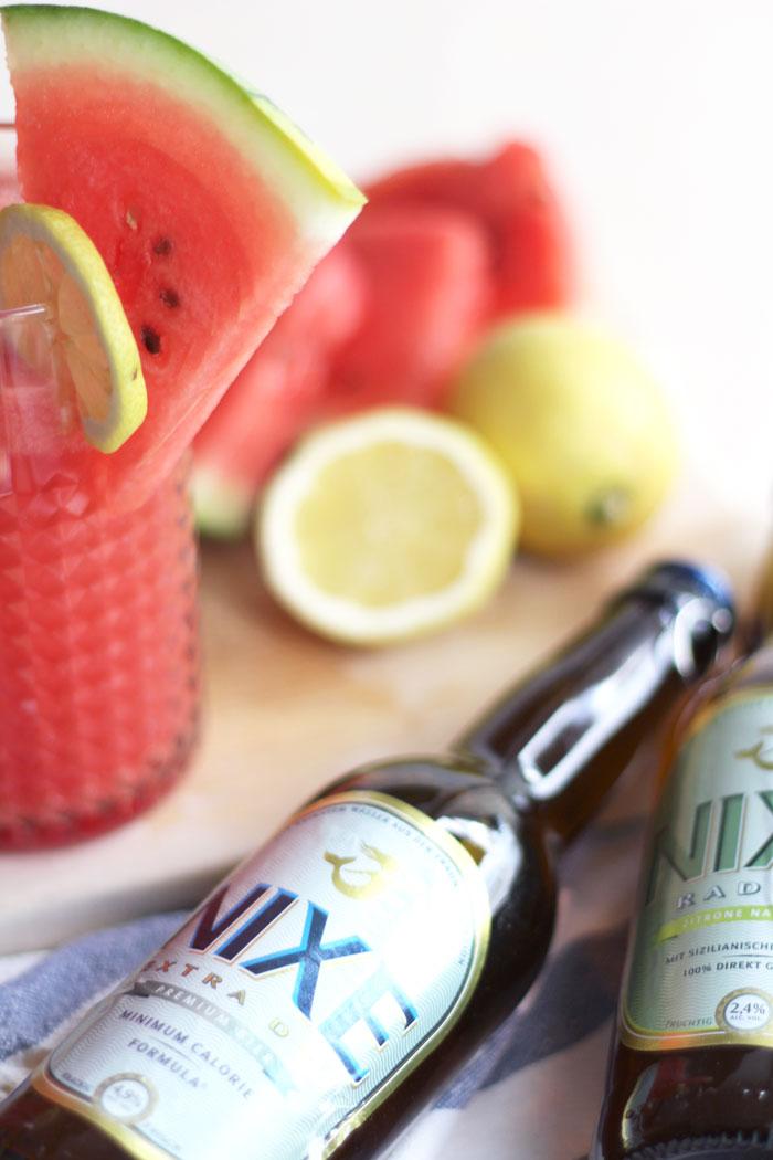 Rezept: Wassermelonen Radler - Recipe: Watermelon Shandy // provinzkindchen.com