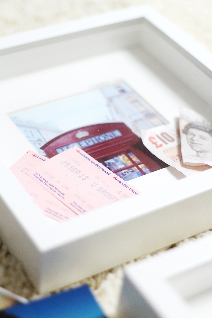 DIY: Travel Shadowbox - Erinnerungen im Bilderrahmen - provinzkindchen