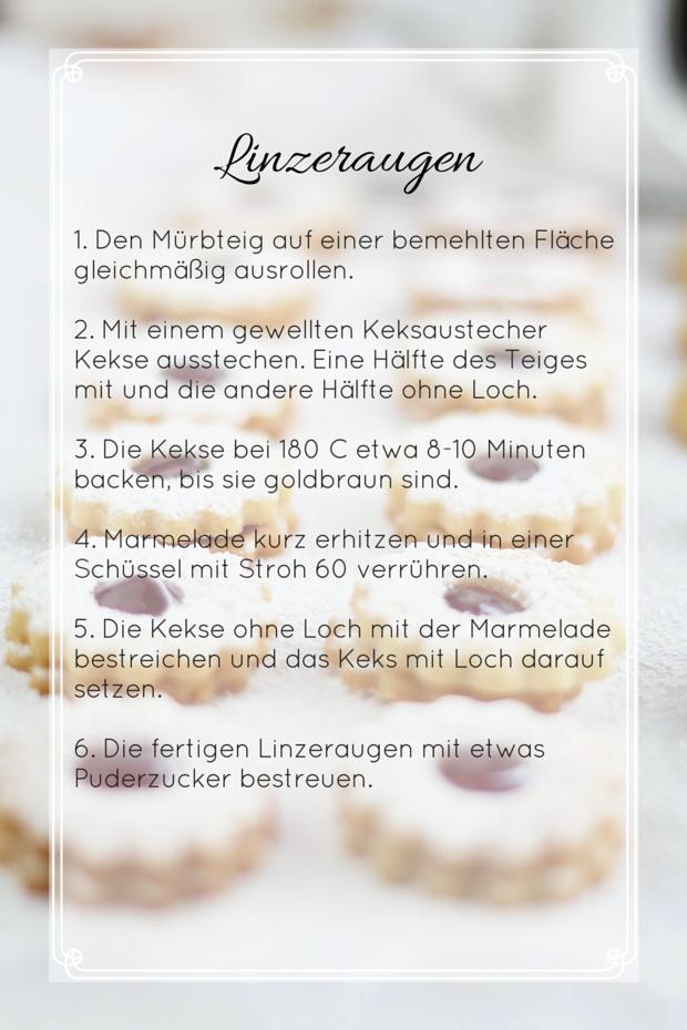 planung kekse backen