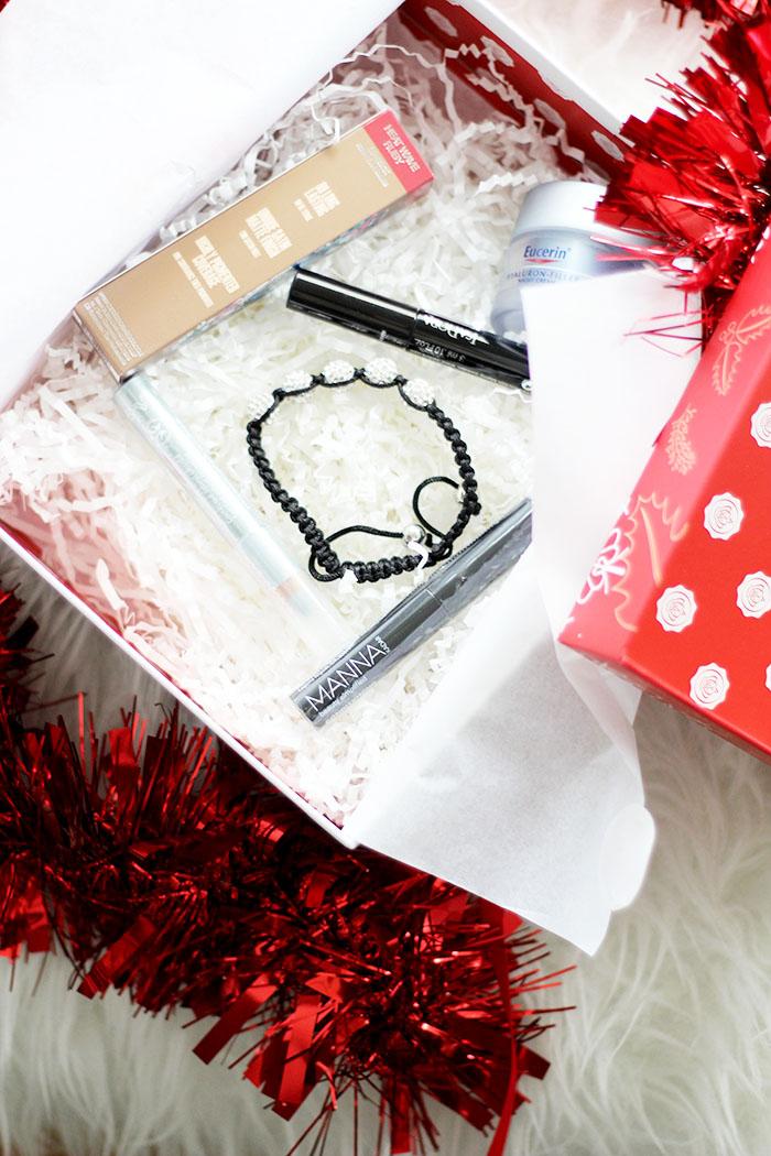 Überraschung aus der Box: glossybox christmas