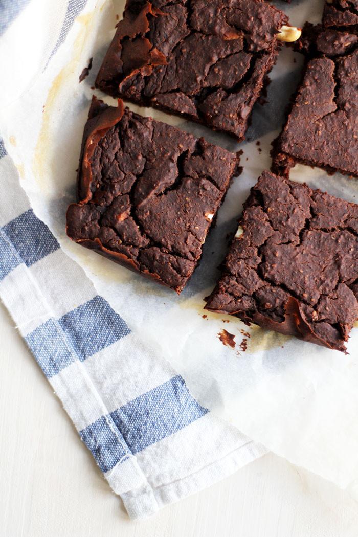 Vegane Brownies mit Kidneybohnen