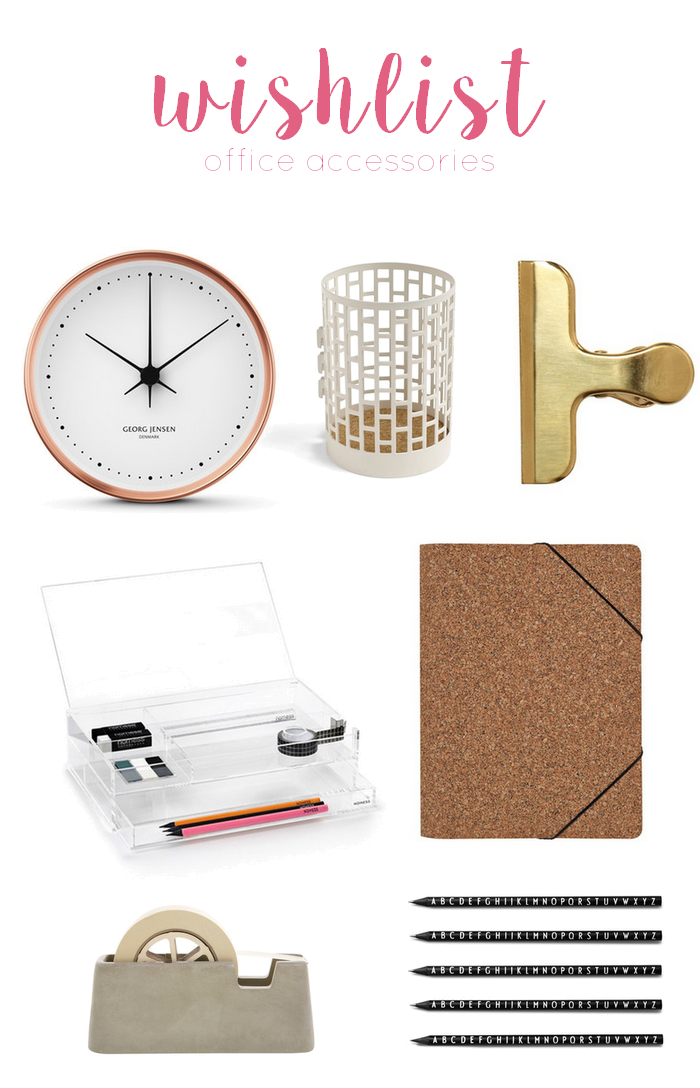 wishlist office accessoires