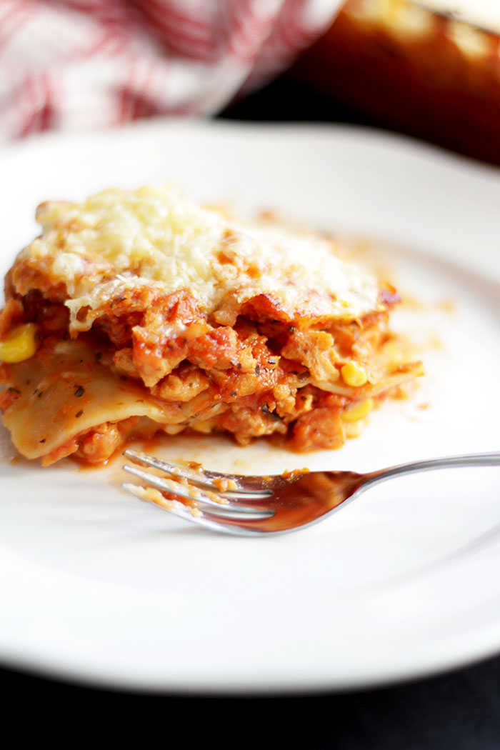 Veggie Lasagne www.provinzkindchen.com