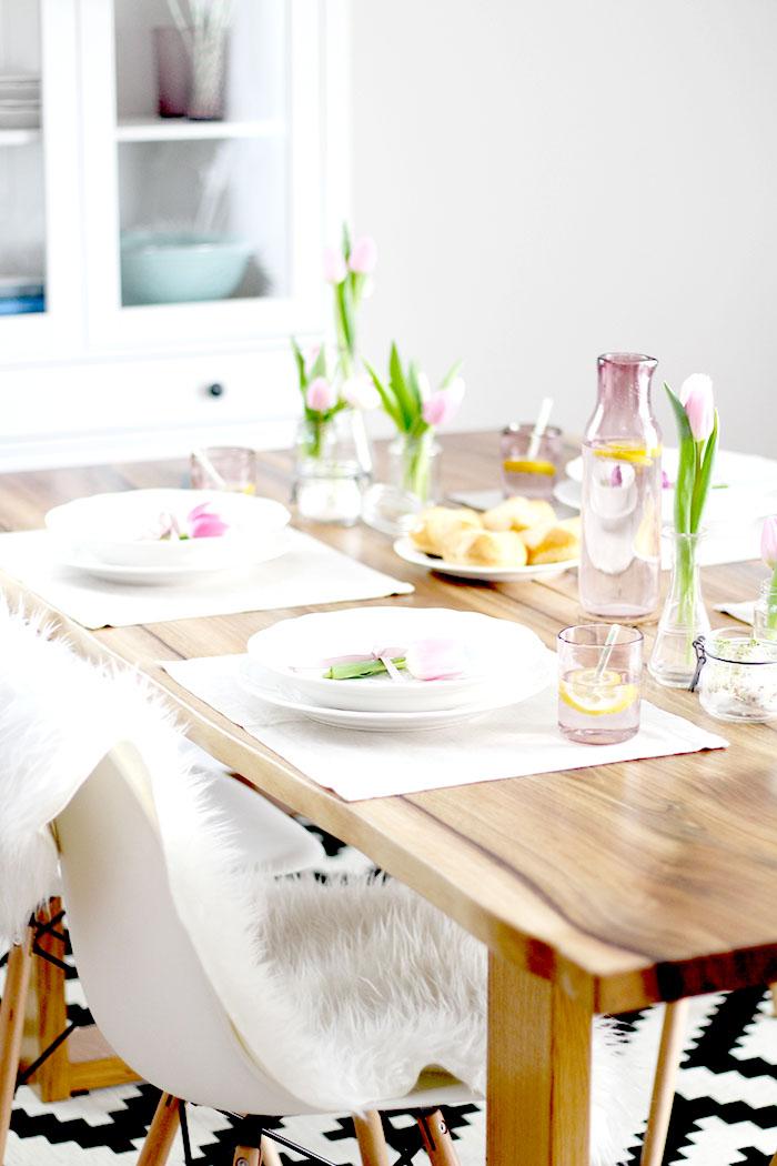 Home sweet home fr hlingshafte tischdeko f r das for Ikea tischdeko