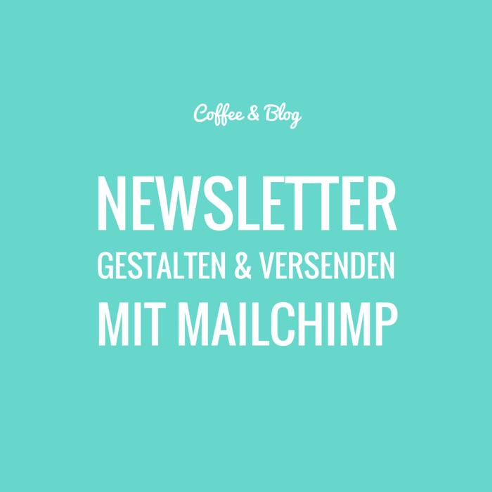 Newsletter gestalten und versenden