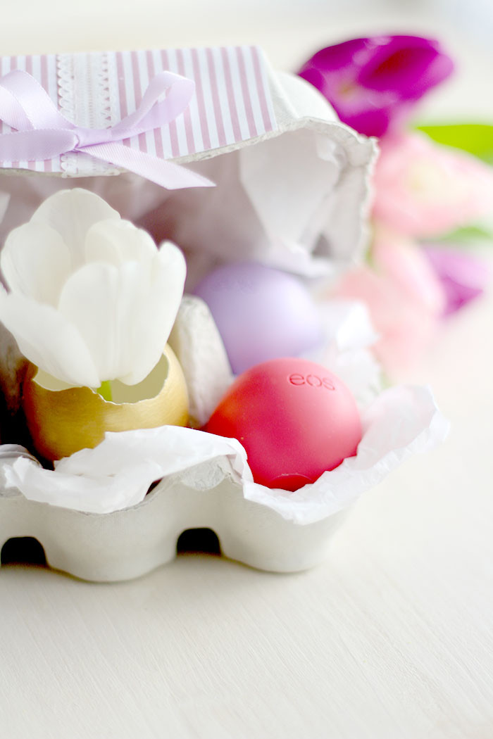 DIY Osternest im Eierkarton