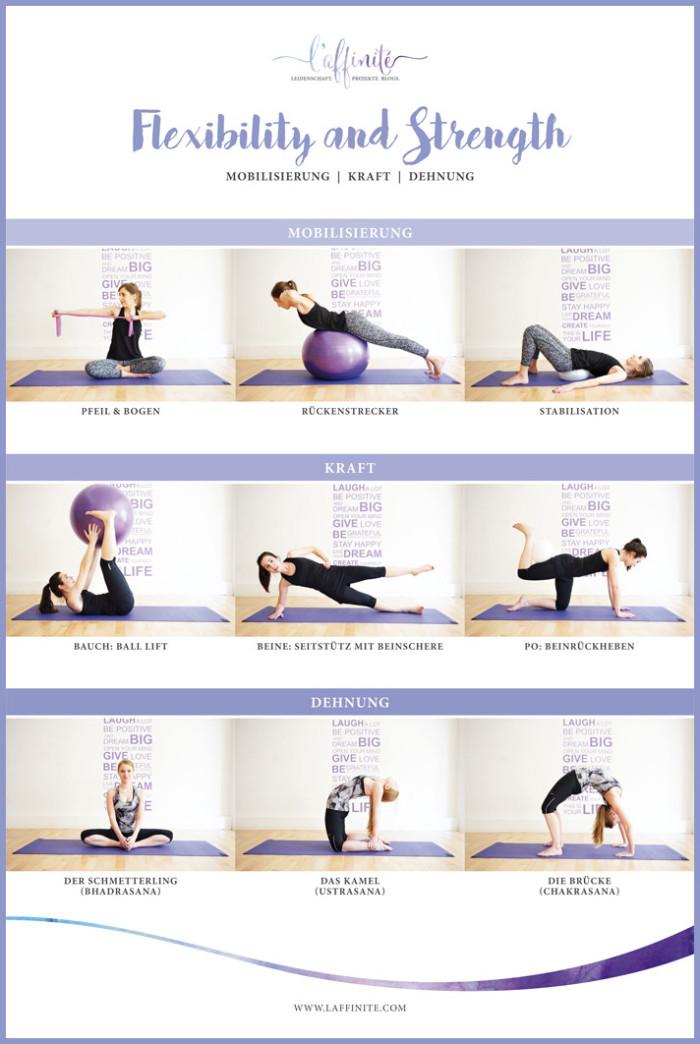 Flexibillity & Strength: Bring dich in Bewegung mit Gillette Venus & 9 einfachen Übungen