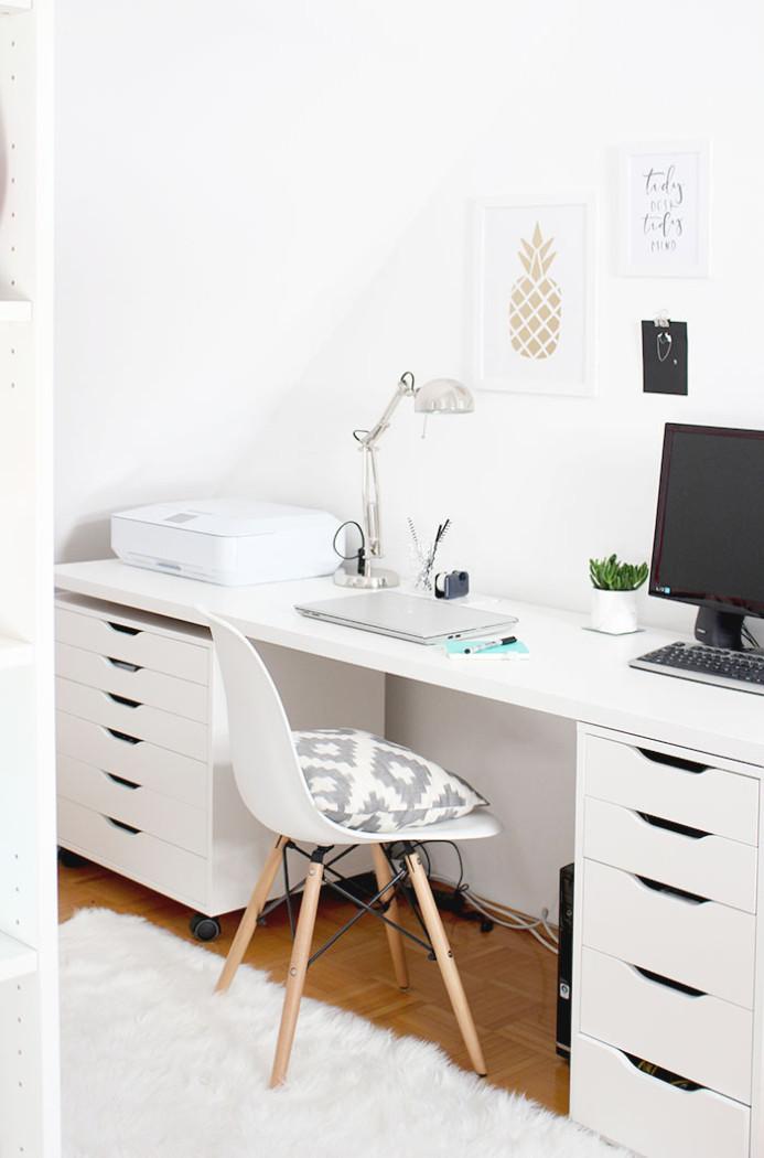 home sweet home mein neuer arbeitsplatz provinzkindchen. Black Bedroom Furniture Sets. Home Design Ideas