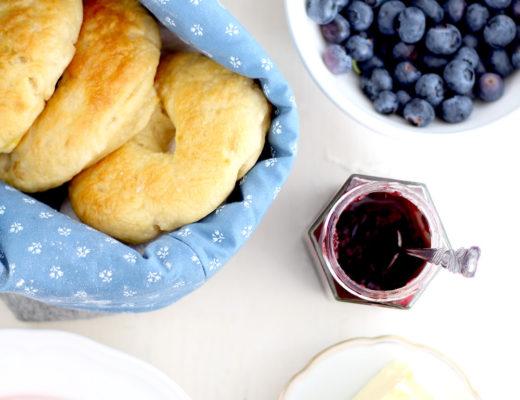 Bagels für das Sommerfrühstück // provinzkindchen.com