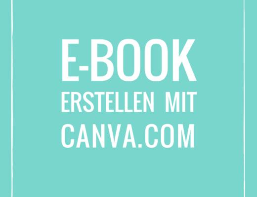 E-Book erstellen mit Canva.com
