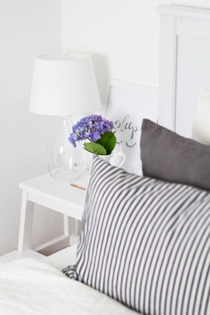 Schnelles Schlafzimmer Makeover mit Dylon Textilfarbe // provinzkindchen.com