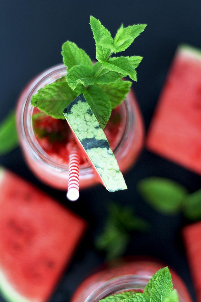 Wassermelone Minze Smoothie // provinzkindchen.com