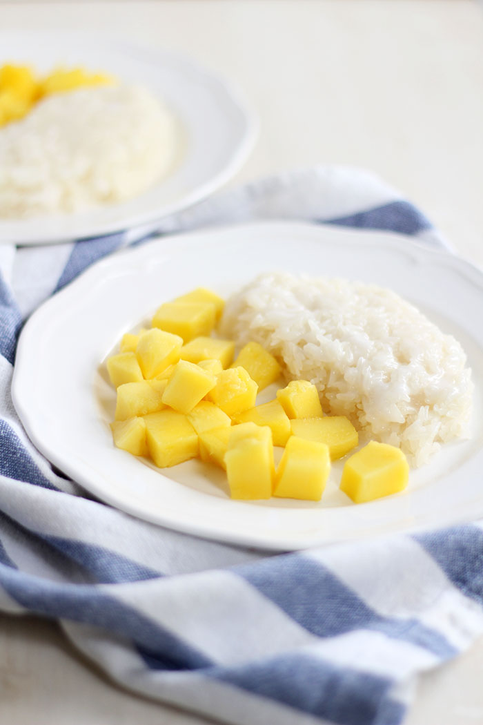 Sticky Rice mit Mango