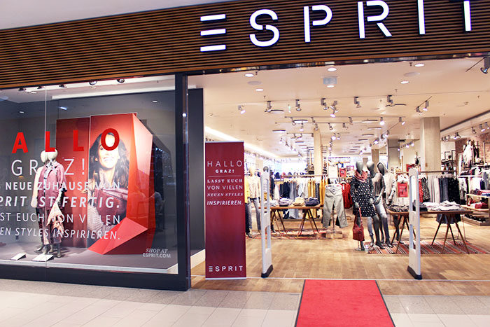 Esprit Store Re-Opening in der Shoppingcity Seiersberg