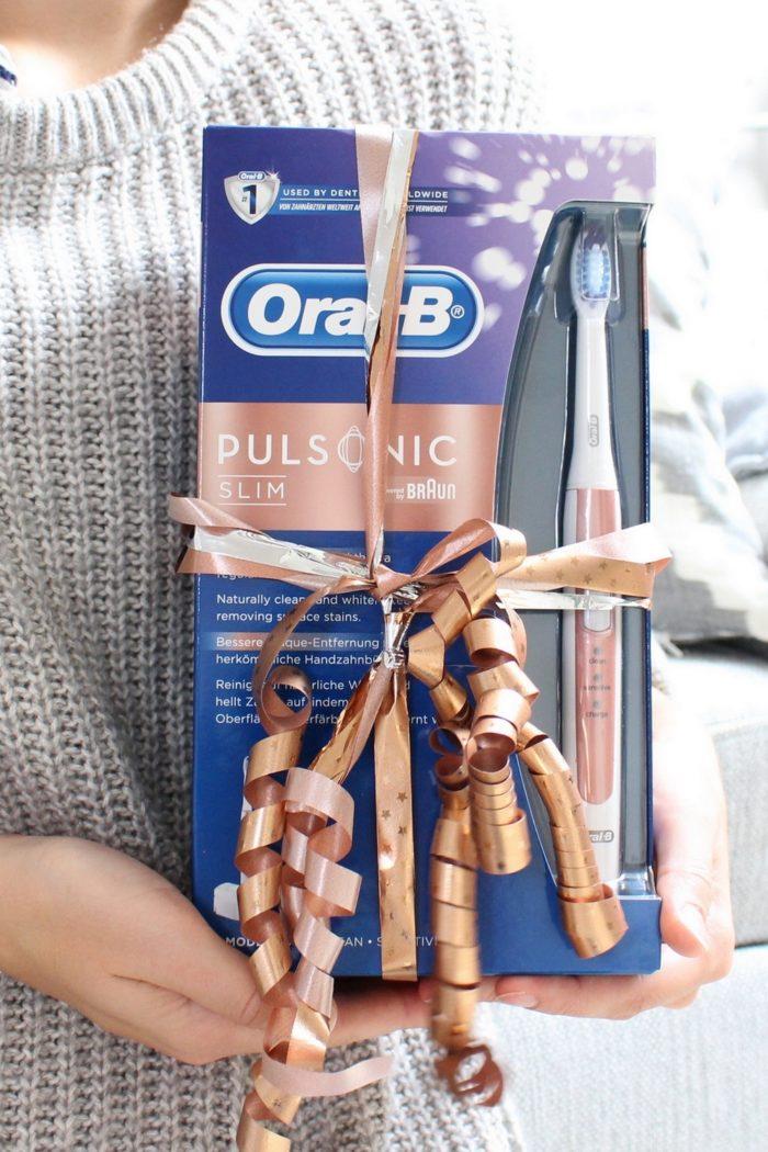 Meine Zahnpflegeroutine mit der Oral-B Pulsonic Slim in Roségold