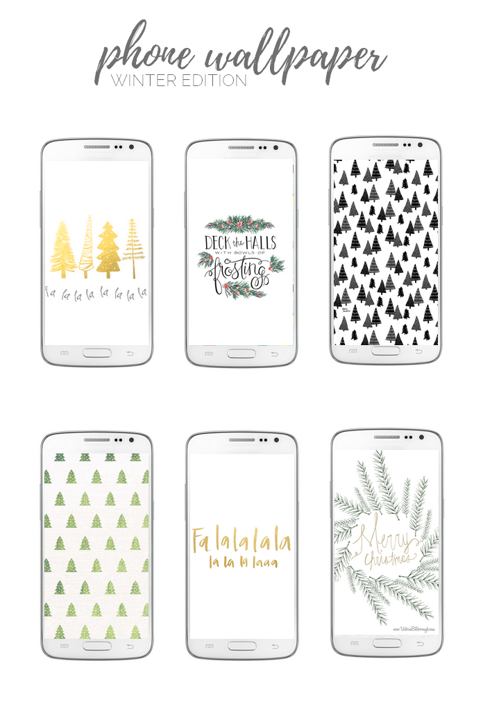 Phone Wallpaper - Winter Edition
