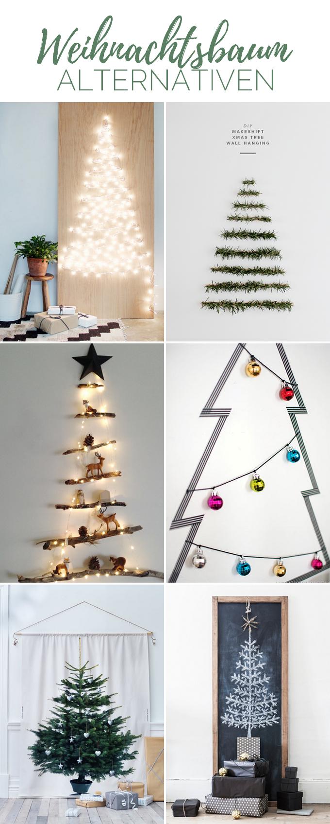 6 Schone Weihnachtsbaum Alternativen Provinzkindchen
