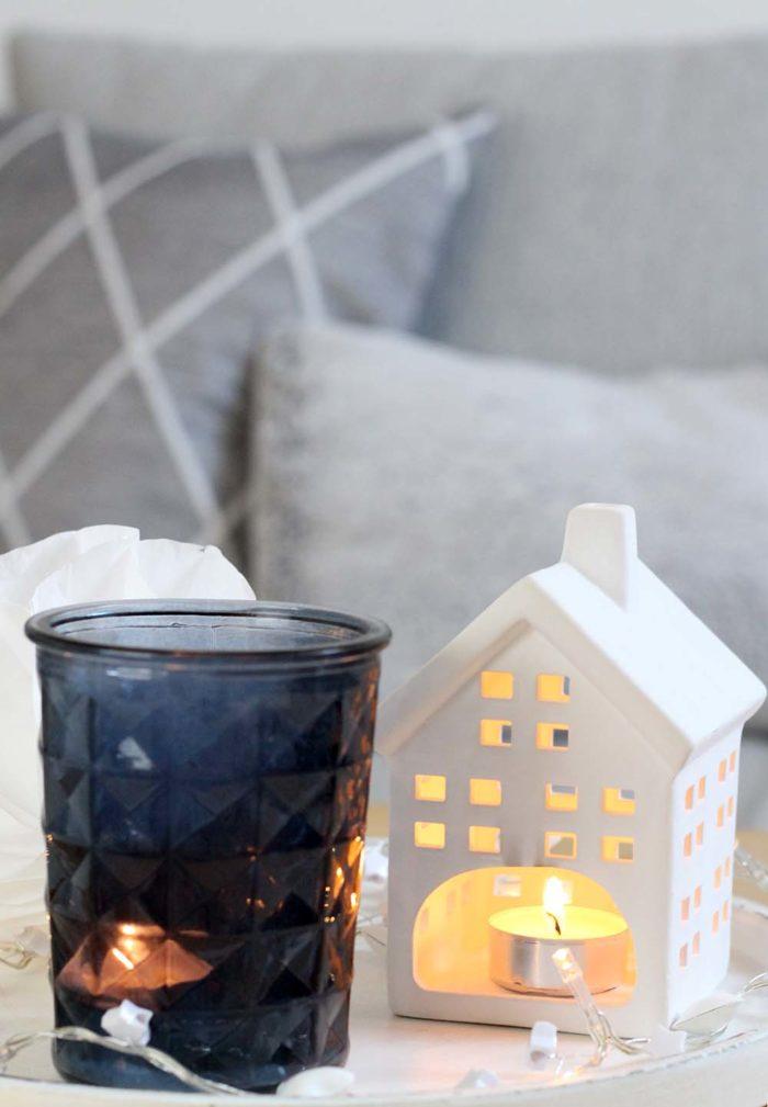 Wohnzimmer weihnachtlich dekorieren - 3 einfache Tipps