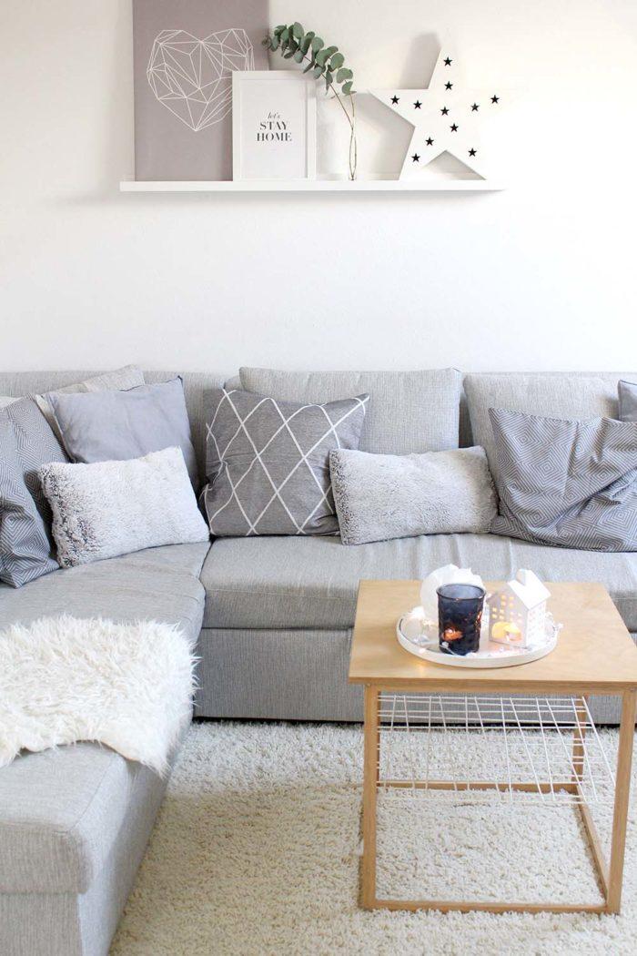 Wohnzimmer weihnachtlich dekorieren - 3 einfache Tipps ...