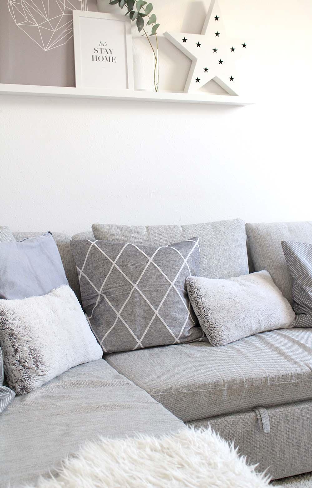 Wohnzimmer weihnachtlich dekorieren - 3 einfache Tipps - provinzkindchen