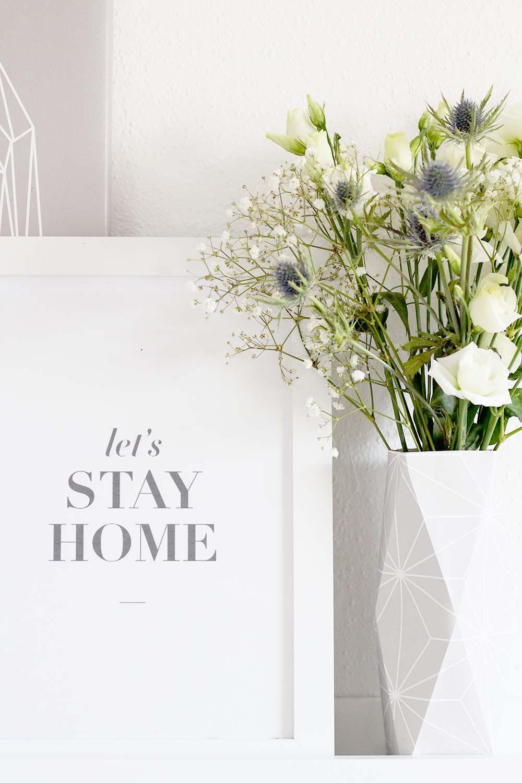Origami Paper Vase | 1500x1000