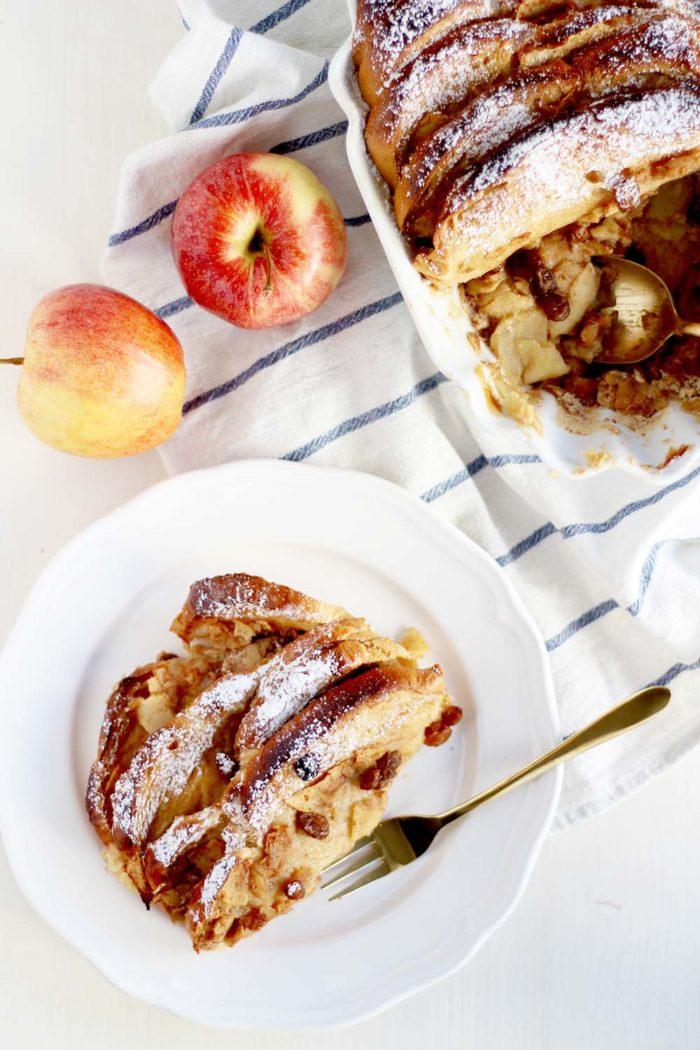 Soulfood: Scheiterhaufen mit Äpfeln und Zimt