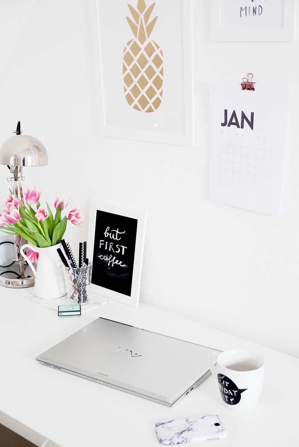 3 schnelle DIY Ideen für den Schreibtisch