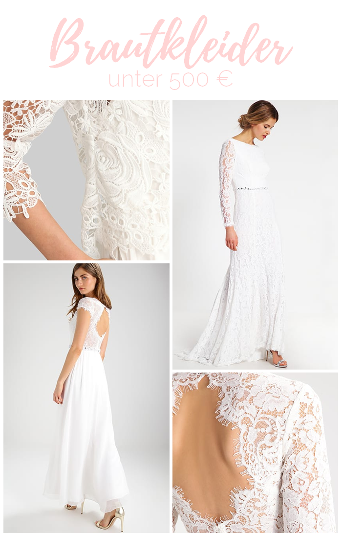Because I Said Yes: Brautkleider unter 500 Euro