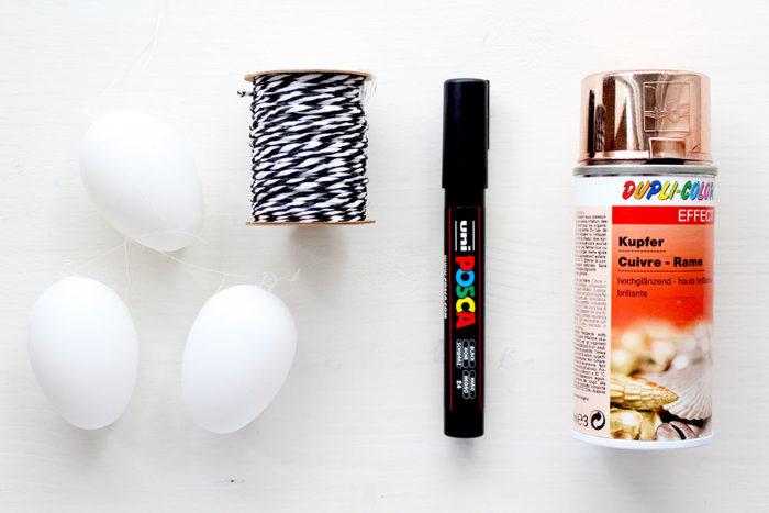 Mini DIY: Ostereier verzieren - zwei schöne Ideen zum Nachmachen